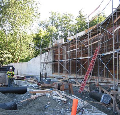 Waterproofing Green Architecture for West Coast Botanical Garden