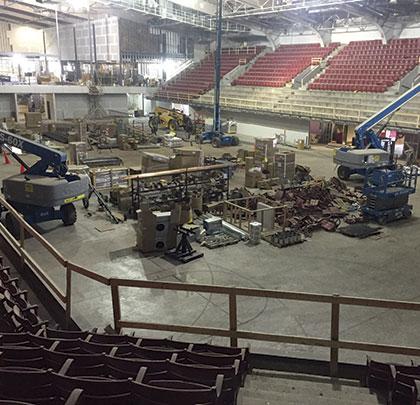 Reynolds Coliseum Renovation Modern Contractor Solutions