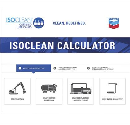 ISOCLEAN Calculator