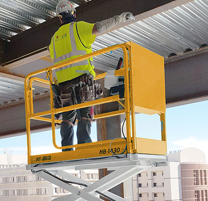Low-Level Scissor Lift