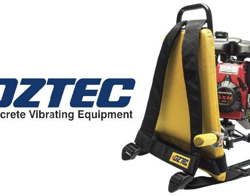 Oztec concrete vibrator