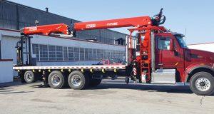Fascan Fassi F375SE.14 wallboard crane