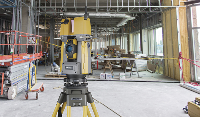 Robotic Total Station: Designed to Provide a Complete Layout and Scan on a Single Setup