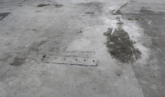 Concrete Floor Cosmetic repair