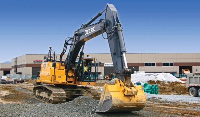 Topcon's X-53x Automatic Excavator system