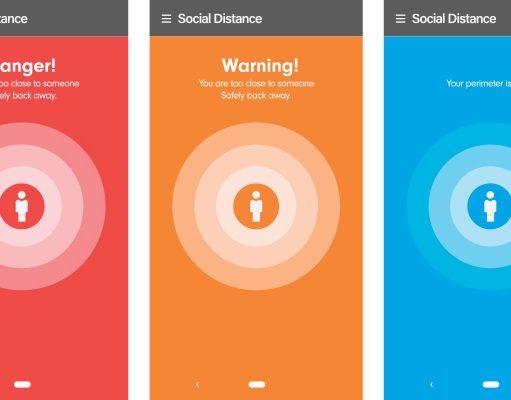 Social Safety App Screen